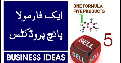 ONE FORMULA FIVE PRODUCTS | BUSINESS IDEAS 2
