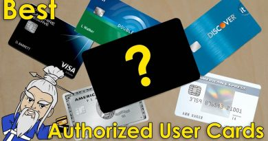 What is the Best AUTHORIZED USER CARD for CREDIT BUILDING? 2
