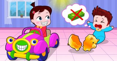 Baby Using Saving Money To Buy A New Car! Popular Kids Songs by Cartoons Sun & Moon 3