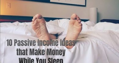 10 Passive Income Ideas that Make Money While You Sleep 3
