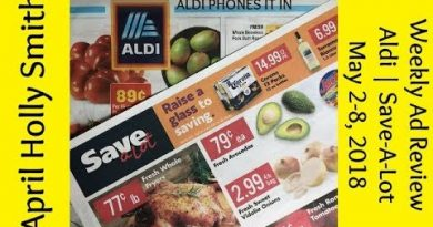 Weekly Ad Reviewl|Aldi|Save-A-Lot|May 2-8, 2018| April Holly Smith 3