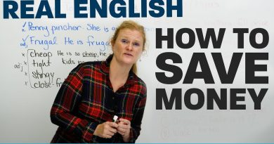 Vocabulary & Tips to SAVE MONEY 2