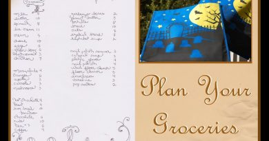 How I Plan and Budget My Grocery List 3