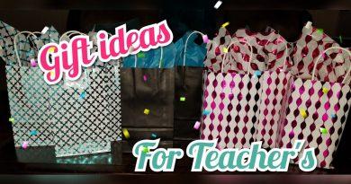 Teacher Gift Ideas / Easy and Simple 3