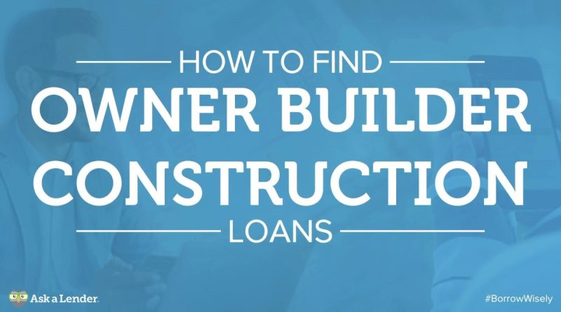how to find a lender