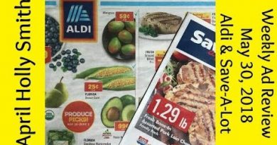 Weekly Ad Review| May 30, 2018 Aldi & Save-A-Lot | April Holly Smith 3