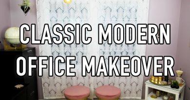 Classic Modern Office Makeover - HGTV Handmade 4