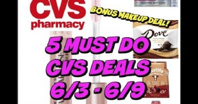 5 MUST DO CVS DEALS 6/3 - 6/9 |  FREEBIES & Bonus Deal! 3