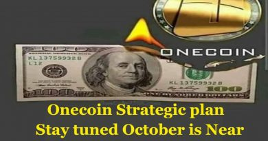 Onecoin from its inception developed a strategic plan stay tuned October is near 2