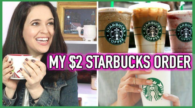 My $2 Starbucks Order // How To Save Money At Starbucks // Starbucks Coffee Hack 1