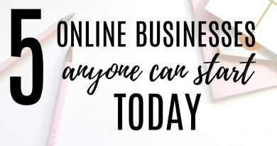 5 Online Business Ideas You Can Start TODAY // Make Money AT HOME in 2018 3
