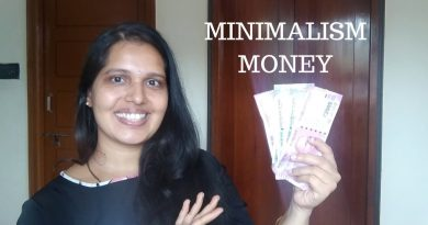 Minimalism and MONEY Saving Connection 3