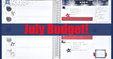 July 2018 Budget Plan With Me! 3