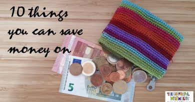 10 Things you can save money on | Minimalism 4