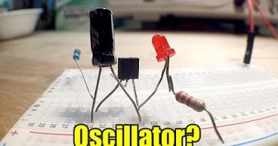 How to make a single transistor oscillator 3