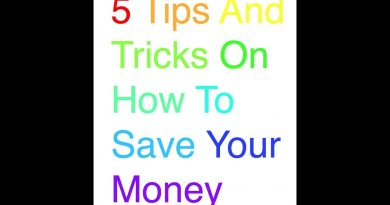 5 Tips And Tricks On How To Save Your Money 2