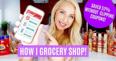 How I Grocery Shop to Save Money & Time! (Without Clipping Coupons) 2