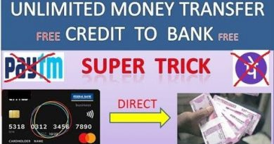Unlimited money transfer Credit Card to Bank Account || latest working trick... 3