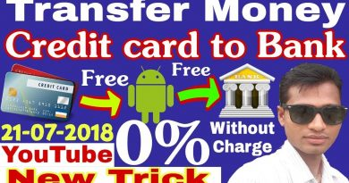 Credit card to Bank account Money transfer Free||Latest trick 21-07-2018 100%Working.. 3