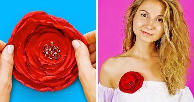 32 WONDERFUL FLOWER CRAFTS IDEAS 2
