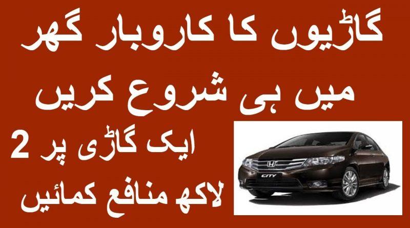 Best Business in Pakistan Car Business Business ideas high profit Business 1