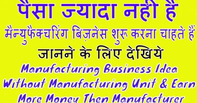 Manufacturing Business Idea Without Manufacturing Unit & Earn More Money Then Manufacturer || HINDI 4