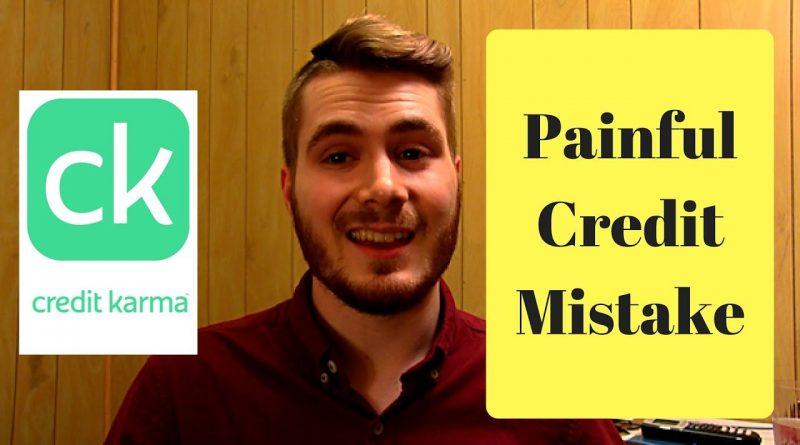 The Biggest Mistake on Credit Karma 1