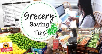 HOW I PLAN FOR GROCERIES ON A BUDGET | GROCERY SHOP WITH ME 2018 | GROCERY SAVING TIPS FAMILY OF 6 2