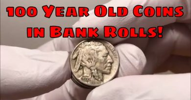 100+ Year Old Coin Found in Credit Union Nickel Rolls!  Old Coins Worth Money!! 3