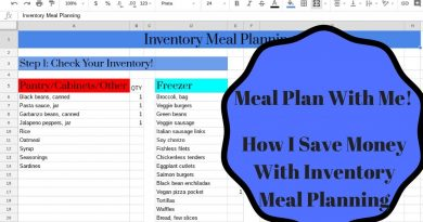 Meal Plan With Me: How I Save Money With Inventory Meal Planning 4