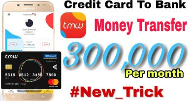 #New_trick 3 Lakh money transfer free || Credit Card to bank 4
