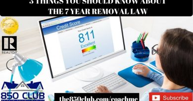 3 Things You Need To Know About The 7 Year Removal Credit Report Law - FICO,Bankruptcy,Credit Karma 3