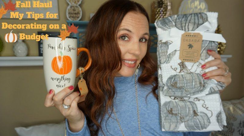 Fall haul| My tips for saving you money for decorating on a budget 1