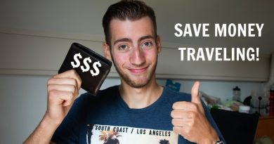8 Tips On How To Save Money While Traveling! 3
