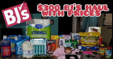 Huge $300 Grocery Haul | BJ'S PRICES INCLUDED 3