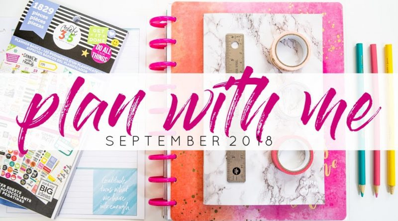 Back to School Bullet Journal Ideas - Plan With Me Septmber 2018 1