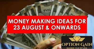 Option Gain  - Money Making Ideas for 23 August & onwards 3
