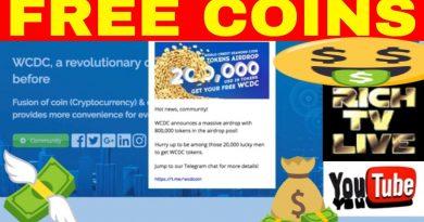 World Credit Diamond Coin (WCDC) announces a massive Airdrop 3