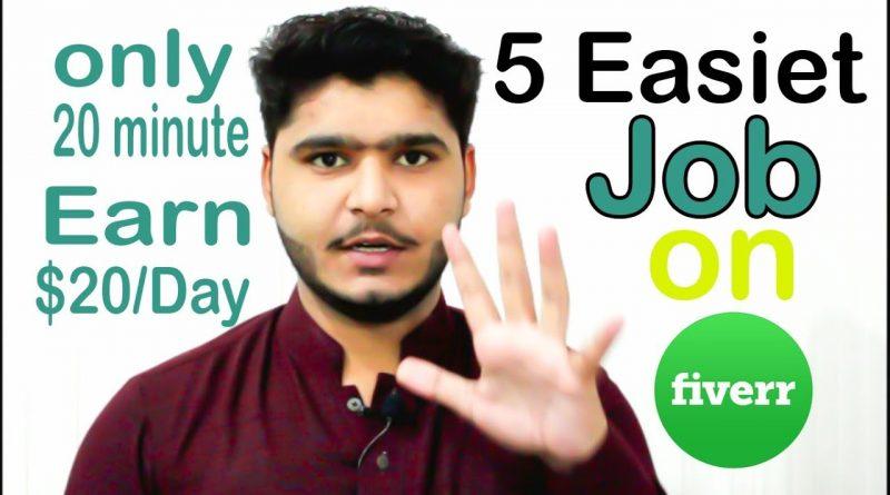 5 Freelancer Gigs Ideas For Pakistani 2018 - Biggest Earning Tricks - Make money online on Fiverr 1