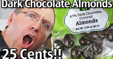 25 Cents Dark Chocolate Covered Almonds?! Amazing Store Deal! 2