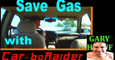 How I save money and gas, while driving, and at the pump 3