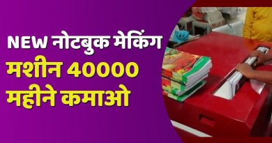 New notebook making machine and business idea 3