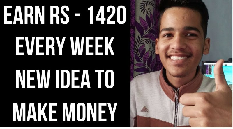Earn Rs -1420 Every Week - New Idea To Make Money With Google Adsense 1