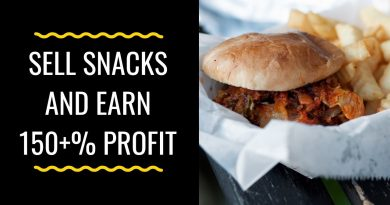Make and Sell Snacks Items and Earn 150% Profits | Small Business Ideas 2