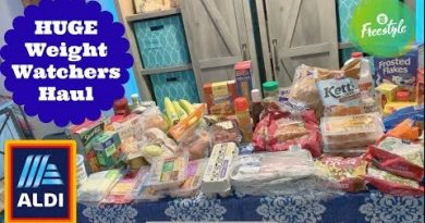 HUGE ALDI Weekly Grocery Haul | Losing Weight On A Budget 3
