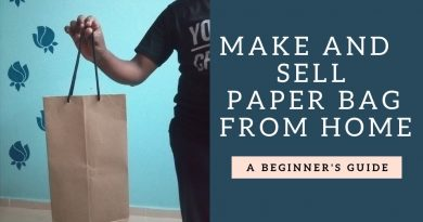 Make and Sell Paper Bag | How To Make Paper Bag At Home | Business Ideas 3