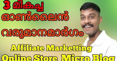 Top 3 Online earning ideas, affiliate marketting, micro blog and online store 2