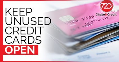 Keep Unused Credit Cards Open 4