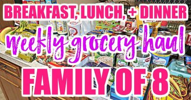 LARGE FAMILY WEEKLY GROCERY HAUL // WAL-MART GROCERY PICKUP 4