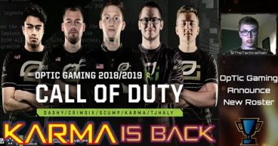 OpTic Gaming confirm Dashy & TJHaly | Karma Returns! | Cod Rostermania | Call of Duty Roster Changes 2